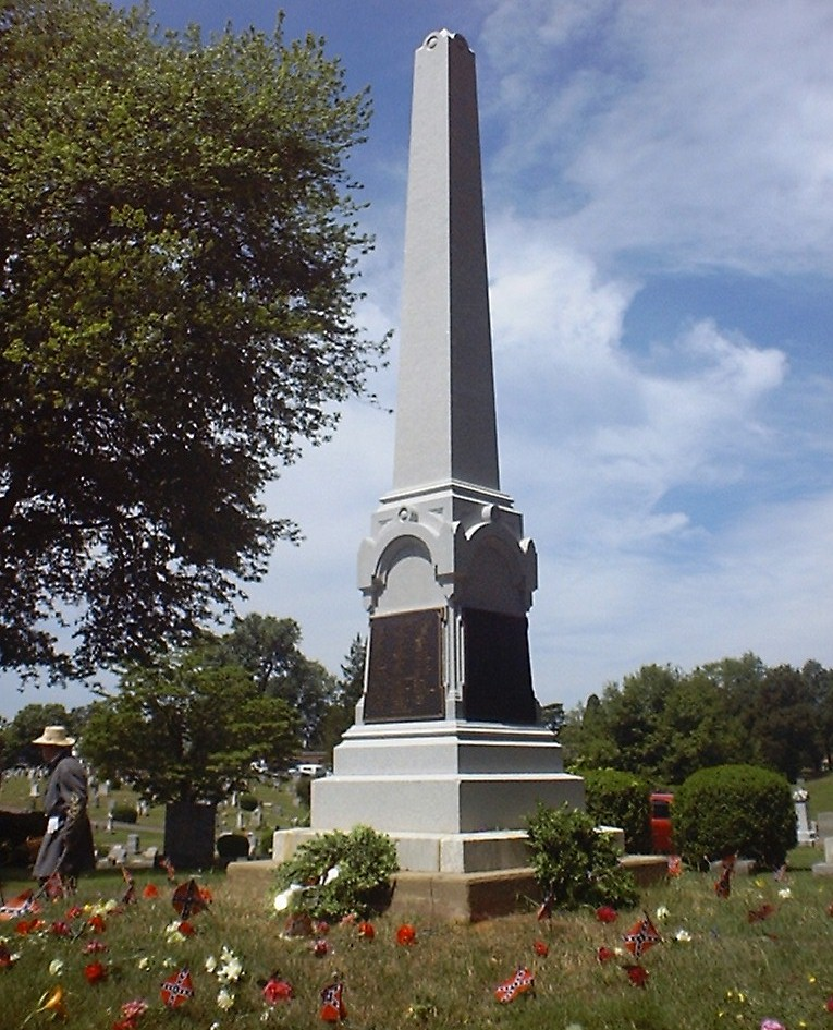 Monument to Confederate dead, Fairview Cemetery, Culpeper...at Memorial Day Rededication 2000